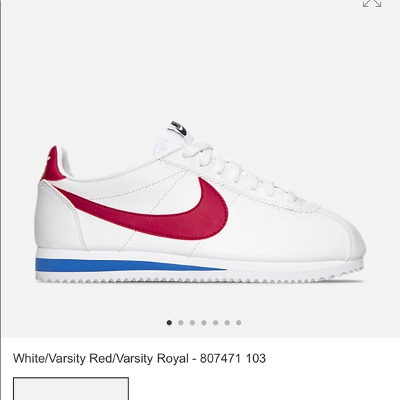 official photos 001b2 c84c0 BRAND NEW W/O TAGS NIKE CORTEZ RED WHITE AND BLUE